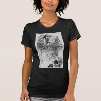 Edgar Allan Poe's The Raven By Edouard Manet T-Shirt