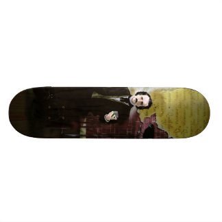 edgar allen poe and raven skate decks