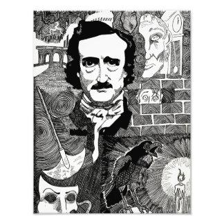 Edgar Allen Poe Art Photo