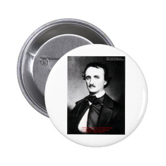 Edgar Allen Poe Bouts Of Sanity Quote Gifts Tees Buttons