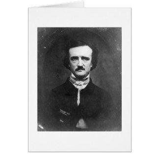 Edgar Allen Poe Card