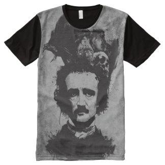 Edgar Allen Poe - Grey - All-Over Shirt All-Over Print T-Shirt