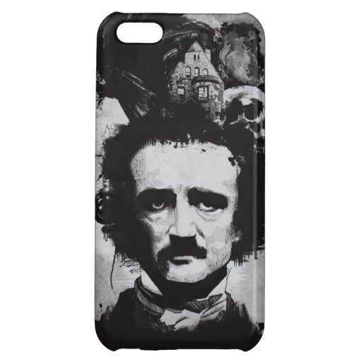 Edgar Allen Poe iPhone Case iPhone 5C Cover