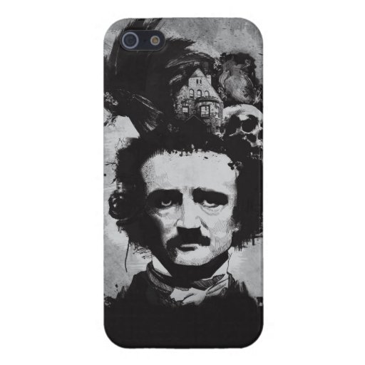 Edgar Allen Poe iPhone Case Cases For iPhone 5