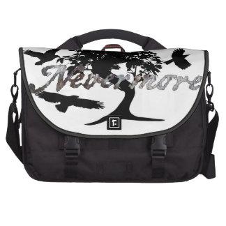 Edgar Allen Poe Nevermore Laptop Bag