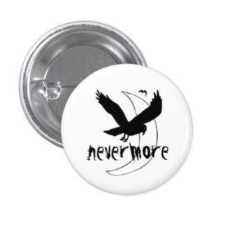 "Edgar Allen Poe ""Nevermore"" Rave pin"