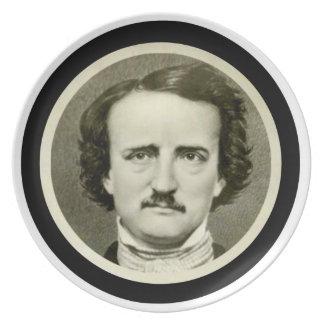 Edgar Allen Poe Dinner Plates