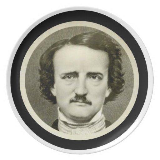 Edgar Allen Poe Plates