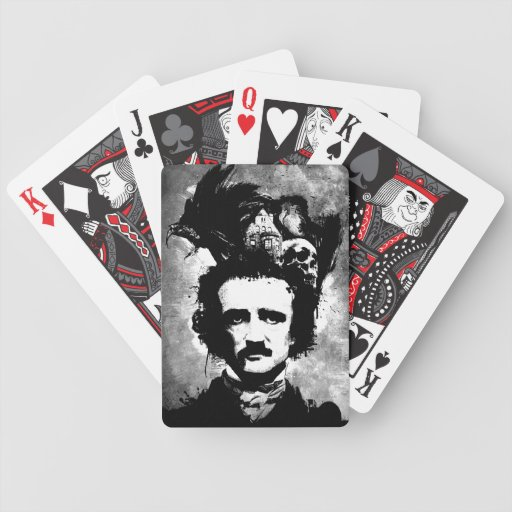 Edgar Allen Poe Bicycle Card Decks