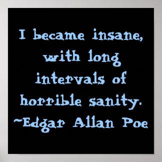 Edgar Allen poe Poster