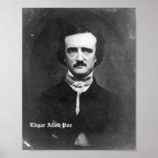 Edgar Allen Poe Poster 10 x 7.5