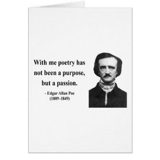Edgar Allen Poe Quote 11b Card