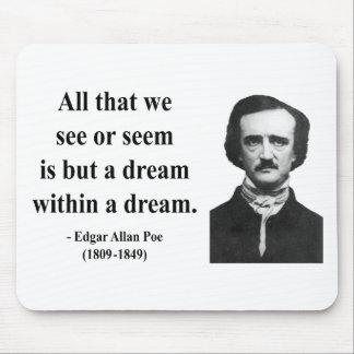 Edgar Allen Poe Quote 1b Mousepads