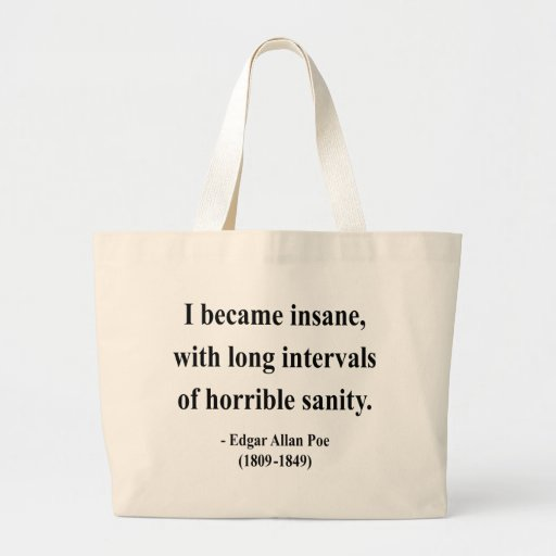 Edgar Allen Poe Quote 2a Tote Bag