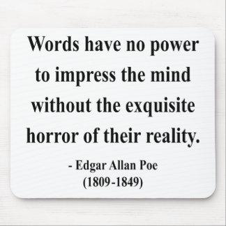 Edgar Allen Poe Quote 4a Mousepad