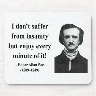Edgar Allen Poe Quote 6b Mousepads