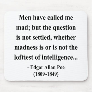 Edgar Allen Poe Quote 9a Mouse Pads