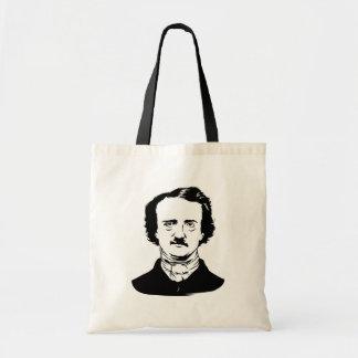Edgar Allen Poe Raven Budget Tote Bag