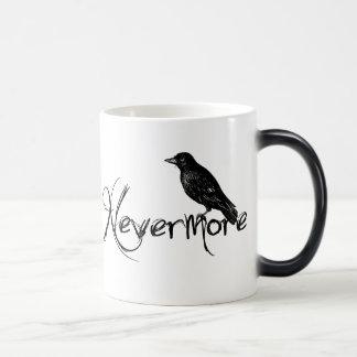 Edgar Allen Poe Raven Nevermore Halloween Morphing Mug