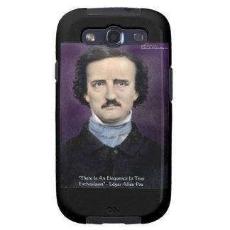 Edgar Allen Poe Samsung Galaxy Phone Case by Rick  Galaxy S3 Cases