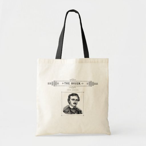 Edgar Allen Poe - The Raven Canvas Bag