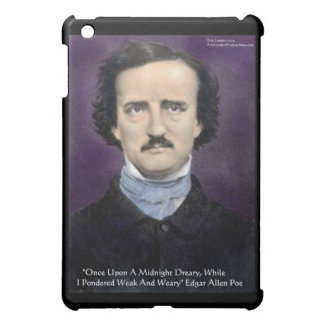 """Edgar Allen Poe """"The Raven"""" Quote Gifts & Cards iPad Mini Case"""