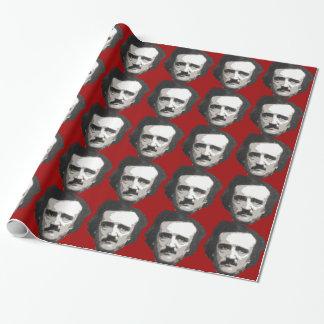 Edgar Allen Poe wrapping paper