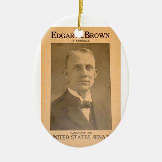 Edgar Brown Ceramic Ornament