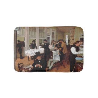 EDGAR DEGAS - A cotton office in New Orleans 1873 Bath Mat