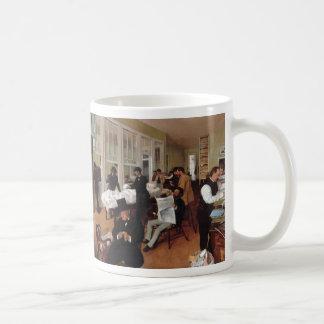 EDGAR DEGAS- A cotton office in New Orleans 1873 Coffee Mug
