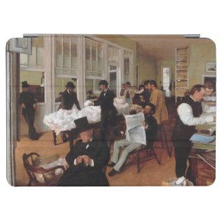 EDGAR DEGAS- A cotton office in New Orleans 1873 iPad Air Cover