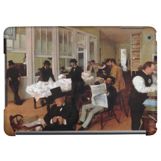 EDGAR DEGAS- A cotton office in New Orleans 1873 iPad Air Cover