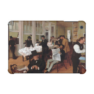 EDGAR DEGAS- A cotton office in New Orleans 1873 iPad Mini Cover