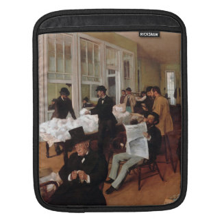 EDGAR DEGAS- A cotton office in New Orleans 1873 iPad Sleeves