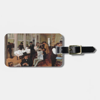 EDGAR DEGAS- A cotton office in New Orleans 1873 Luggage Tag