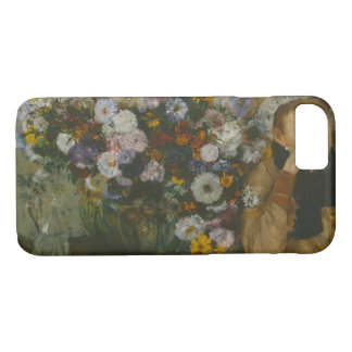 Edgar Degas - A Woman Seated beside a Vase iPhone 7 Case