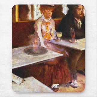 Edgar Degas - Absinthe Drinkers Mouse Pad