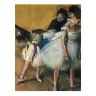 Edgar Degas Art Postcard
