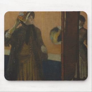 Edgar Degas - At the Milliner's Mouse Pad