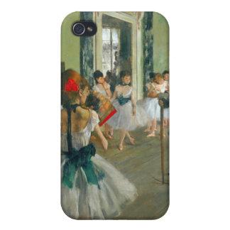 Edgar Degas - Ballet Class iPhone 4 Cases