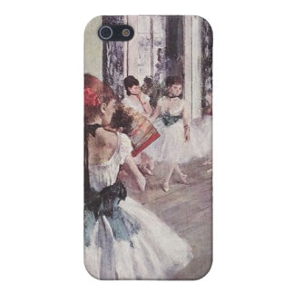 Edgar Degas Ballet Lesson 4G iPhone Cases iPhone 5 Covers