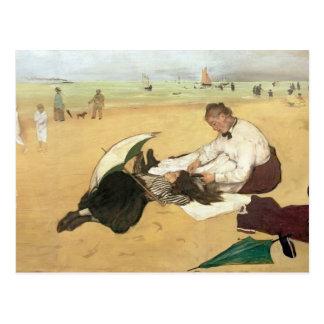 Edgar Degas | Beach scene Postcard