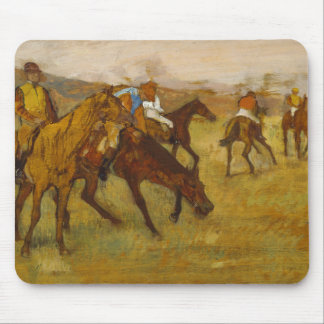 Edgar Degas - Before the Race Mouse Pad
