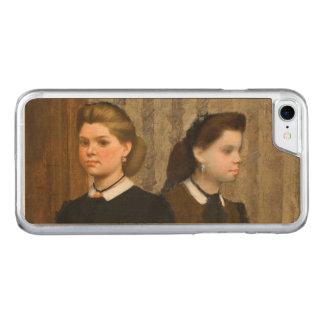 Edgar Degas Bellelli Sisters Carved iPhone 8/7 Case