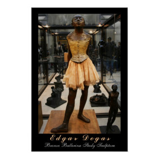 Edgar Degas Bronze Ballerina Study Posters