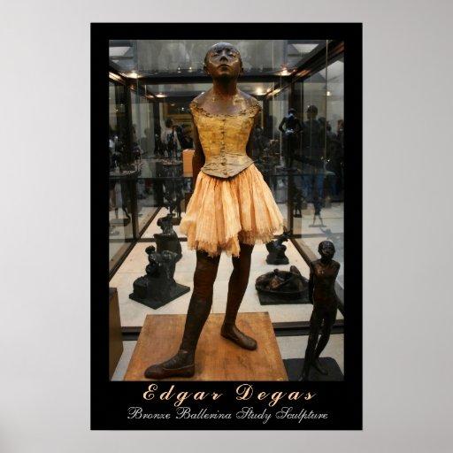 Edgar Degas: Bronze Ballerina Study Posters