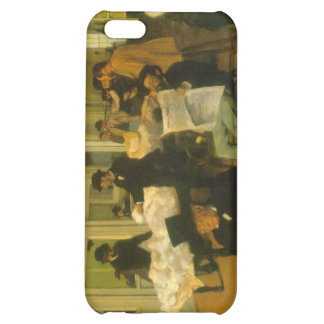 Edgar Degas - Cotton Exchange iPhone 5C Cases