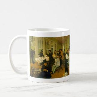 Edgar Degas - Cotton Exchange Coffee Mugs