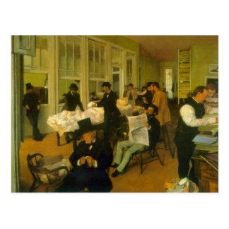 Edgar Degas - Cotton Exchange Postcard