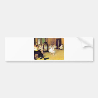 Edgar Degas - Dance Class Bumper Sticker